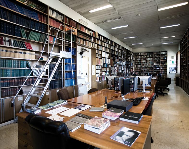 Centro sperimentale di cinematografia servizi biblioteca luigi