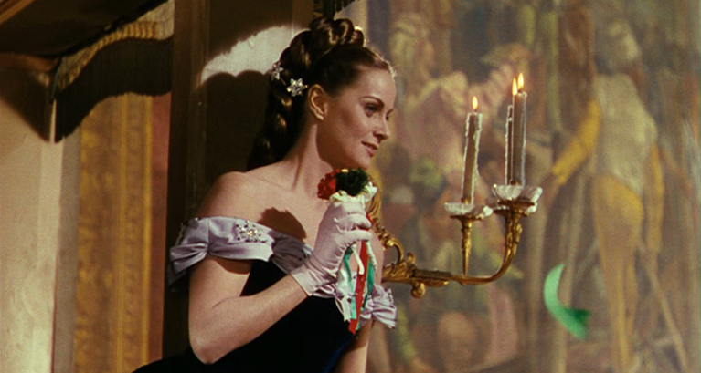 "Alida Valli in ""Senso"" di Luchino Visconti"